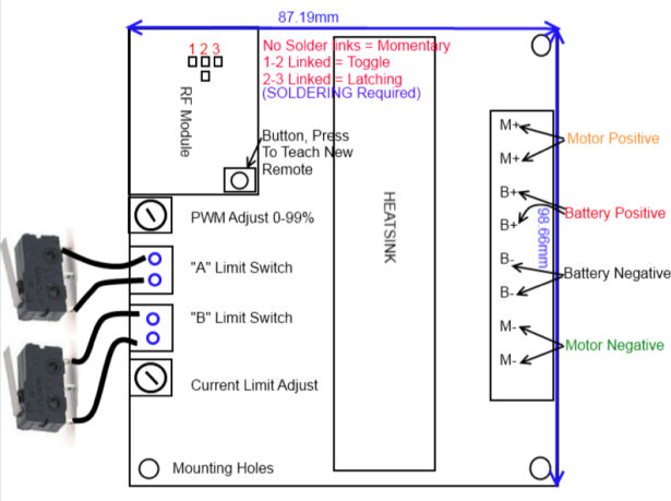 Hampton bay motor wiring diagram capacitor
