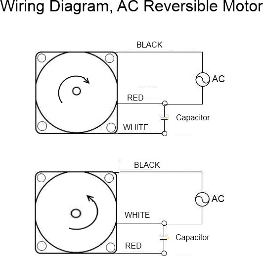 Wiring Diagram For Reversible Motor