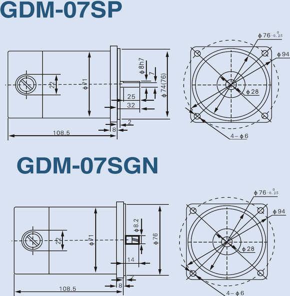 80mm 25 watt dc geared motor 12v 24v for 12 volt 50 watt dc motor