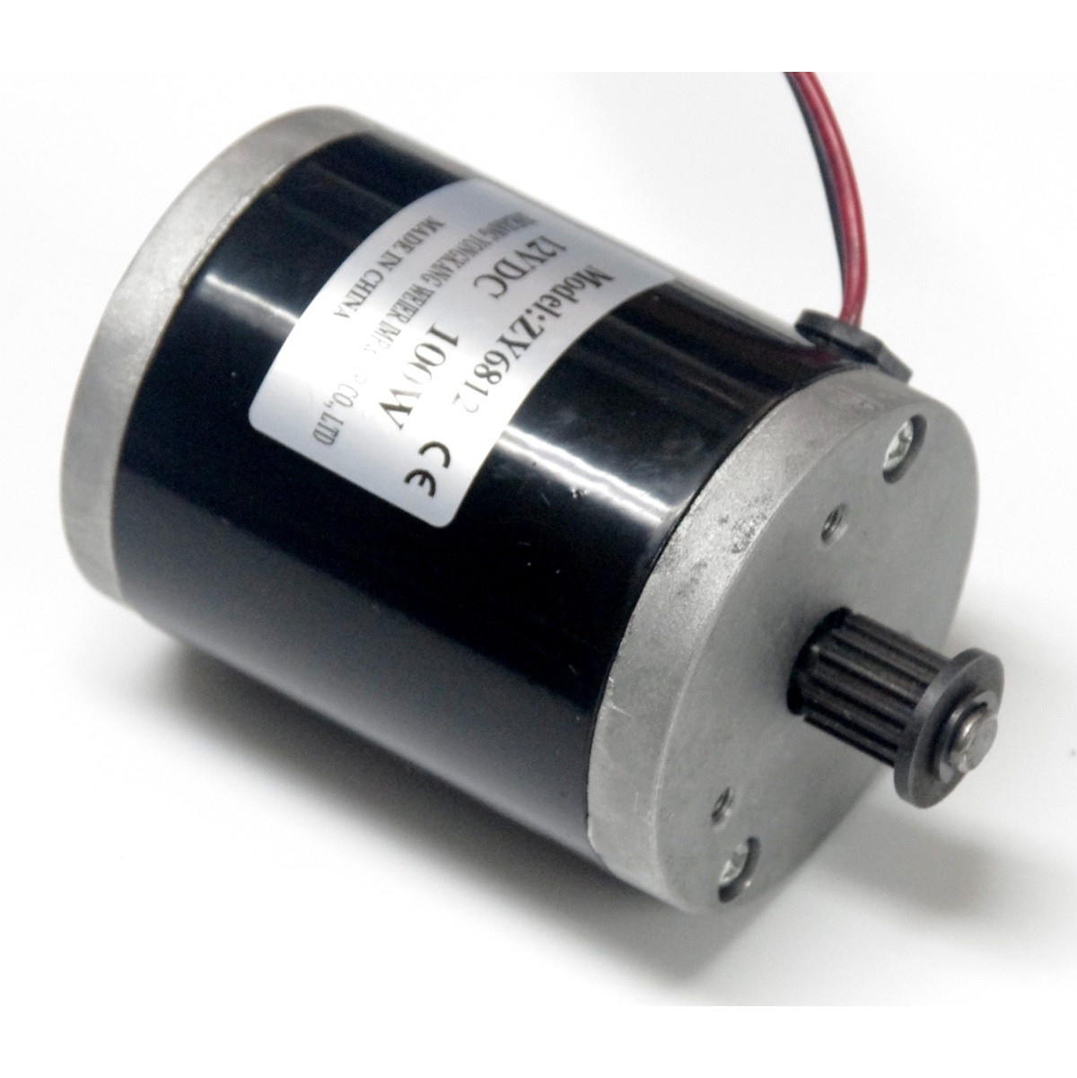 Dc 12v 100w 2750 rpm electric motor belt drive motor for Low speed dc motor 0 5 6 volt